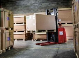 GEODIS has partnered with Phantom Auto, experts in long-range remote operation software for unmanned vehicles, to develop a forklift truck that can be controlled from a distance.