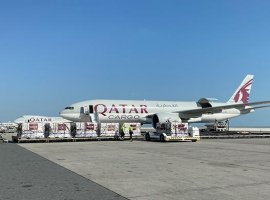 Qatar Airways deploys 5 cargo freighters with 300 tonnes of medical supplies to China
