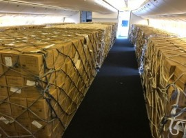 IAG Cargo has transported over a million protective face masks to Munich - following Germany's new rules introduced last month requiring individuals to wear medical-grade face masks when in the workplace, public transport and in shops.