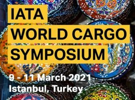 IATA has announced that its 14th World Cargo Symposium (WCS) will take place in Istanbul, Turkey from March 9 - 11, 2021. This announcement comes shortly after IATA cancelled the annual conference in Istanbul due to the coronavirus outbreak.
