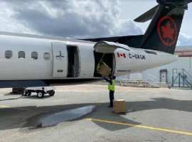 Jazz Aviation and Air Canada will operate the Dash 8-400 Simplified Package Freighter developed by De Havilland Canada