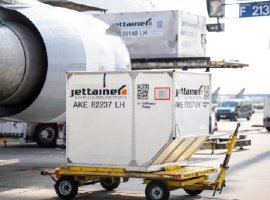 Jettainer, a unit load device (ULD) management company, is securing the supply with Unit Load Devices and is providing the necessary units for short-term needs.