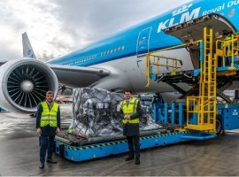 Amsterdam Airport Schiphol with the help of KLM Airlines helped transport a shipment of Covid-19 vaccines destined for the Caribbean part of the Kingdom of the Netherlands to to Bonaire and Aruba on February 16.