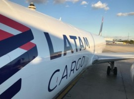 Bringer Air Cargo's first cargo charter operated by LATAM Cargo Brazil in the Miami-Belo Horizonte/Confins route landed on October 7.