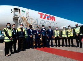 LATAM Cargo carried out a flight from Miami to Florianopolis on a B767F aircraft, connecting North America with Southern Brazil for the first time.