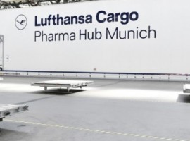 The Lufthansa Cargo Pharma Centers in Munich and Chicago, which opened in summer 2020, were recently CEIV Pharma-certified.
