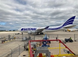 National Airlines has expanded its fleet with three more B747-400Fs and an A330-200 passenger aircraft in response to the rapidly increasing demand for cargo and passenger charters.