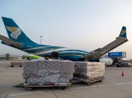 The national carrier of Oman, Oman Air, operated 69 chartered cargo-only flights from April to June, including the highest-ever cargo load the airline has carried.