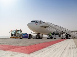 Oman Air is operating freight-only flights to and from India to bring in food and essential goods to the country.