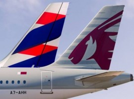 The expanded agreement will allow Qatar Airways passengers to book travel on 45 additional LATAM Airlines Brazil flights and to access over 40 domestic and international destinations on the South American carrier's network.