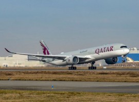 The national carrier of the State of Qatar is the largest operator of Airbus A350 aircraft with 34 A350-900 and 19 A350-1000. It will operate the new aircraft on strategic routes to and from Africa, the Americas, Asia-Pacific and Europe.