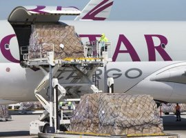 Qatar Airways Cargo started freighter flights to Australia from April 2 and will double capacity to Kuwait and Muscat