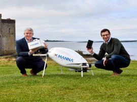 Samsung Electronics has entered into a partnership deal with Manna Drone Delivery where Irish customers will receive the latest range of Galaxy devices by way of drones.