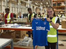 SEKO Logistics is gearing up for its order fulfilment and global shipping campaign as official logistics partner to new Scottish Premiership champions Rangers Football Club.