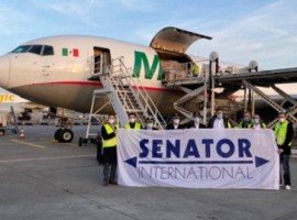 The maiden flight marks the beginning of a permanent expansion of air cargo services to and from North and Central America. From now on, the connection from Frankfurt (FRA) to Mexico City (MEX) will be offered three times a week, also serving Quito (UIO, Ecuador) in South America.
