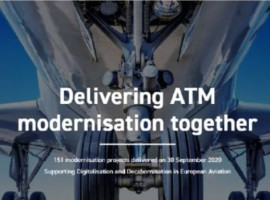 It showcases all 343 SESAR deployment ATM modernisation projects out of which close to 150 are completed, and explains their benefits to the European passengers, citizens, and economy.
