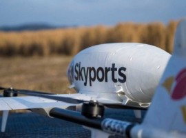 Using the support of the Swoop Aero platform, Skyports' on-demand service will allow the transport of high-value, perishable cargo such as vaccines, medicines and pathology samples.