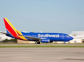 Southwest Airlines is offering cargo-only charter services on its grounded Boeing 737s.