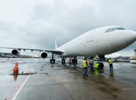 SpiceJet operated its first-ever long-haul cargo flight from Amsterdam to Mumbai using its wide-body Airbus A340 aircraft. The aircraft operated from Mumbai to Khartoum in Sudan.