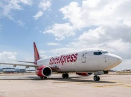 The carrier's first flight from Chennai landed at Changi Airport on February 20 at 1115 hrs. Operated under SpiceJet's cargo arm, SpiceXpress, using a B737F aircraft, the new services will provide additional airfreight capacity between Singapore and India.