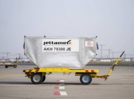 Jettainer manages and maintains Sunclass Airlines' entire fleet of containers and pallets and with the extended partnership will do it for the next five years too.