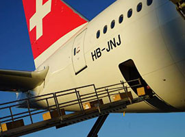 Swiss WorldCargo has updated its offering to include the transportation of commercial cargo in the cabin on select charter flights, starting this week.