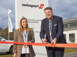 The 17,000 sqm warehouse with an integrated Swissport Pharma Center is equipped with state-of-the-art handling technology and has direct tarmac access.