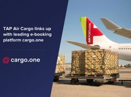 Portugal's flagship carrier TAP Air Portugal (TAP) and air cargo e-booking platform cargo.one have entered into a global partnership. The agreement will support the rapid growth of TAP's cargo business by introducing new digital capabilities