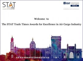 The STAT Trade Times Award for Excellence in Air Cargo is a ceremonious event, popularly known as 'the gala award night' within the air cargo community, which acknowledges pioneering works done by companies and leaders in the air cargo sector, internationally.
