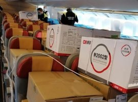 Tigers last week organised the safe transportation of over 1.38 million masks and 53 large ventilators on a charter flight from Shanghai, China, to Rome, Italy