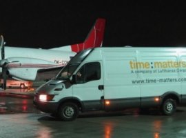 time:matters, in cooperation with CB Logistik, has optimised its flight network in the area of spare parts logistics/after sales service.