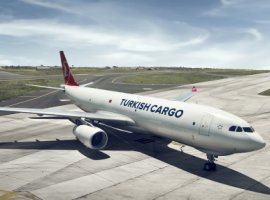 Turkish Cargo achieved the highest growth rate with 16.6 percent growth rate, according to IATA.