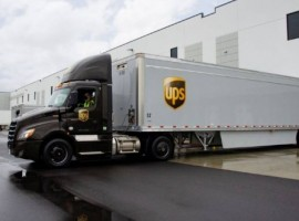 Under its agreement with McKesson, UPS will begin delivering Moderna's Covid-19 vaccine, which on December 18 received a US Food and Drug Administration Emergency Use Authorization.