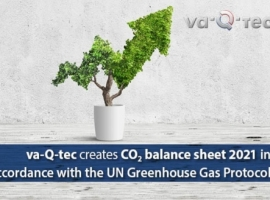 This was done in accordance with an internationally transparent standard for CO2 balancing in cooperation with a renowned climate protection agency.