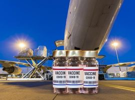 Vaccine stability places air cargo in holding pattern