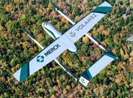 The company known to use VTOL drones for middle-mile drone delivery is collaborating with Merck to pilot the delivery of cold chain medicines from Merck's Wilson, N.C. manufacturing site to Vidant Healthplex-Wilson, a Vidant Health clinic.