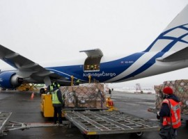 It is the largest twin-engine freighter with up to 106 tonnes of payload which complements the ABC's already extensive fleet of Boeing 747Fs and gives more flexibility in terms of special and general cargo transportation