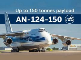 Volga-Dnepr Airlines has completed the upgradation of its second Antonov-124 aircraft. The upgrade has increased the aircraft's capacity by 20 tonnes and can now take payloads of upto 150 tonnes