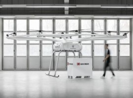 German startup Volocopter has teamed up with DB Schenker to deploy its heavy-lift drones, in a project that will gather vital practical flying experience before its air taxis enter service.