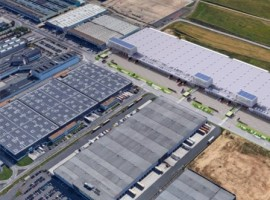 The new 25,000 sq mt facility is in addition to WFS' 11,000 metre warehouse and office operation at the airport which opened in the Brucargo West development zone in 2019.