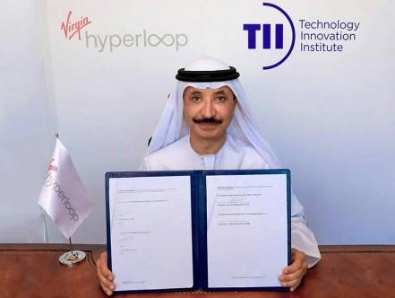 TII, Virgin Hyperloop announce partnership to help advance transport in the UAE