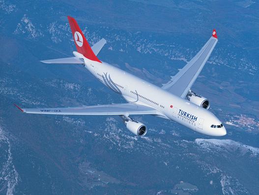 Turkish Airlines starts service to Samara, Russia