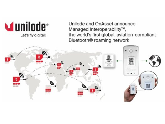 Unilode, OnAsset launch world's first aviation-compliant Bluetooth roaming network