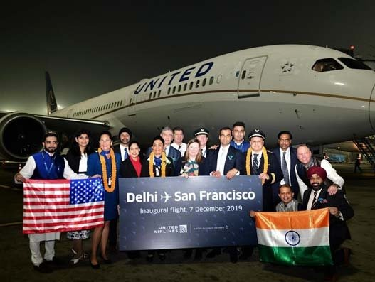 United Airlines starts New Delhi-San Francisco nonstop service
