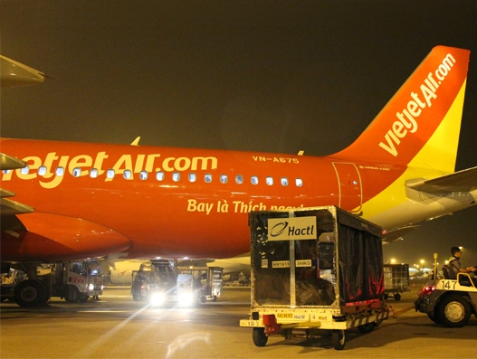 Hactl to handle cargo for VietJet at Hong Kong
