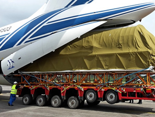 Volga-Dnepr delivers launch vehicle to Europe's Spaceport