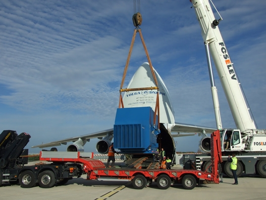 Volga-Dnepr's 7-hour airfreight solution saves customer a 20-day sea journey