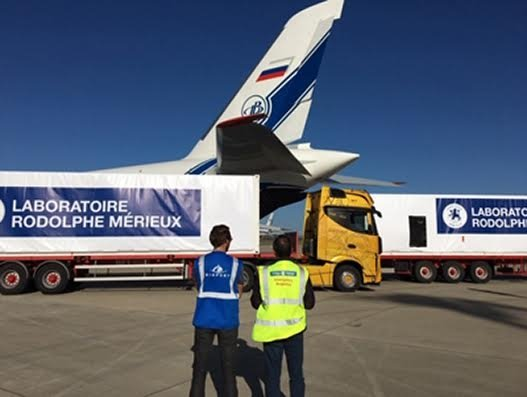 Volga-Dnepr Group operates charter flight to aid emergency Ebola delivery