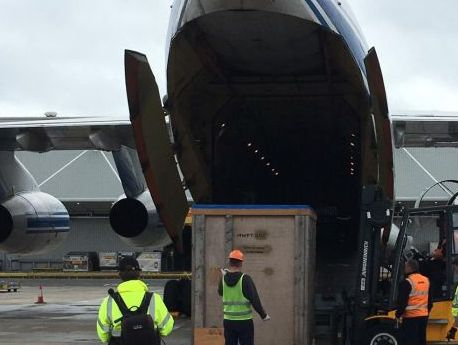 Volga-Dnepr, K+N partner to deliver power turbine from UK to Russia