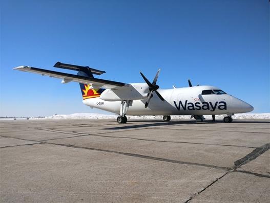 Voyageur Aviation unveils Dash 8-100 Package Freighter